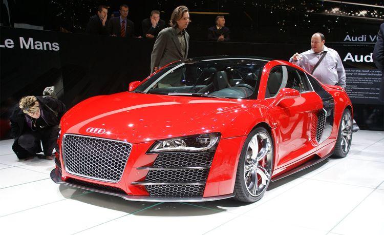 Audi R8 V-12 TDI Concept