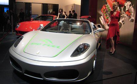 Ferrari F430 Spider Biofuel Concept