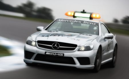 Mercedes-Benz SL63 AMG Safety Car and C63 AMG Wagon Medical Car