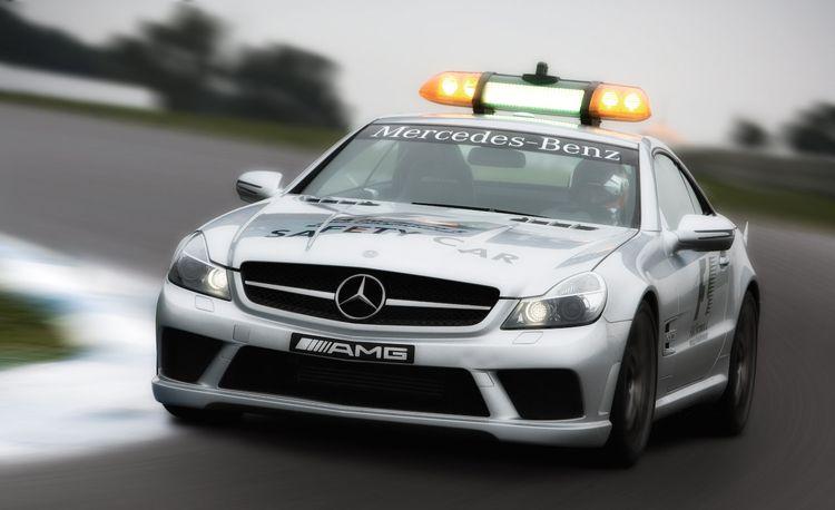 Mercedes-Benz SL63 AMG Safety Car and C63 AMG Wagon Medical Car