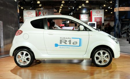Subaru R1e Electric Car