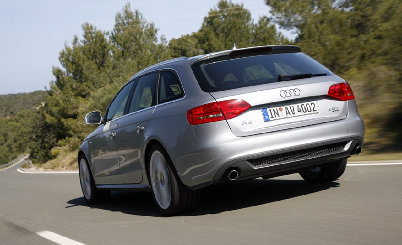 Comments on: 2009 Audi A4 Avant - Car and Driver Backfires