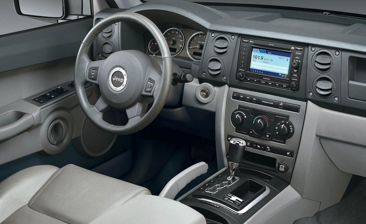 Great 2008 Jeep Commander