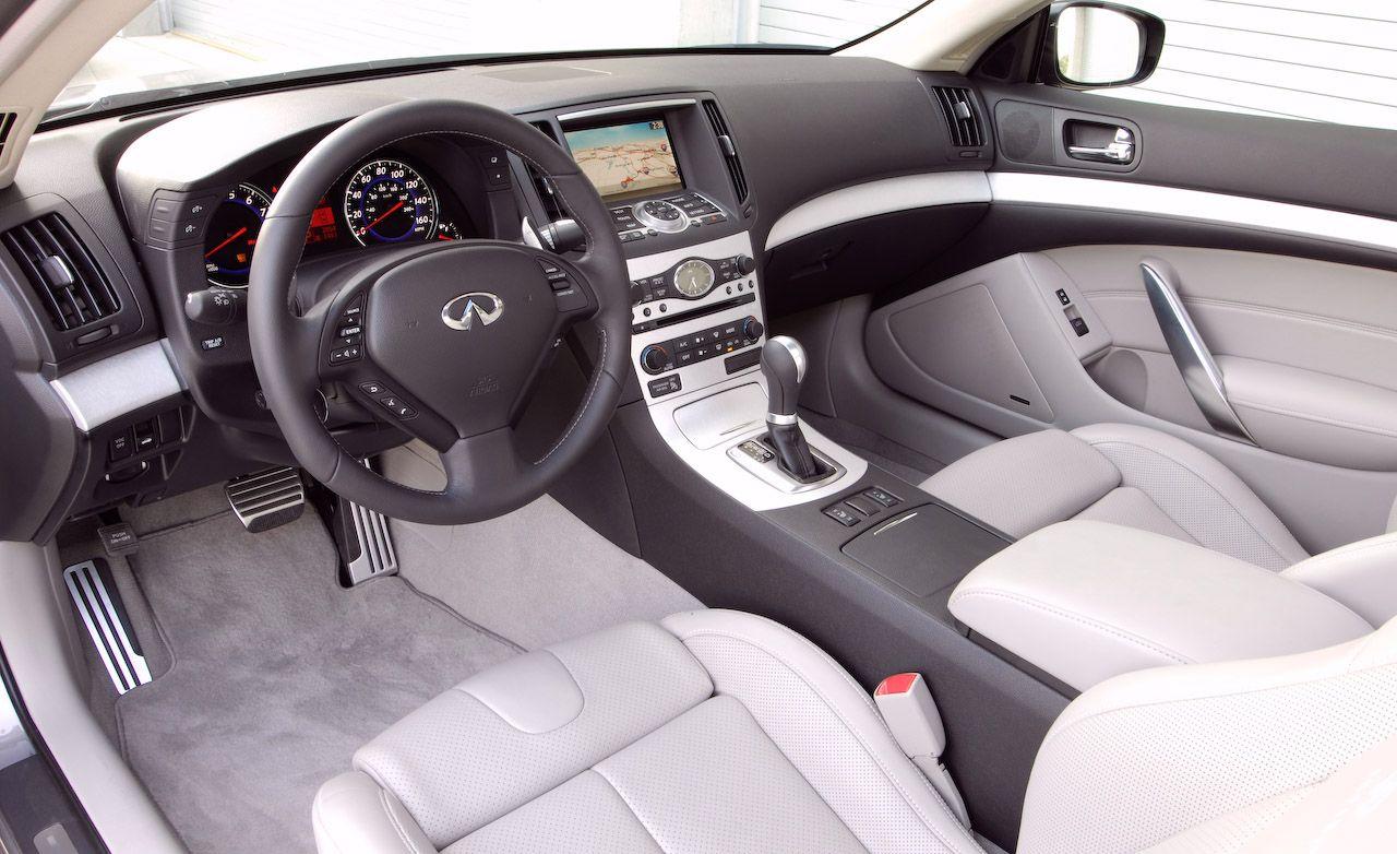 Infiniti g37 coupe interior