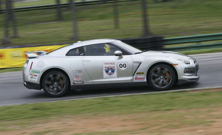 2008 Tire Rack One Lap of America: We Race a Nissan GT-R