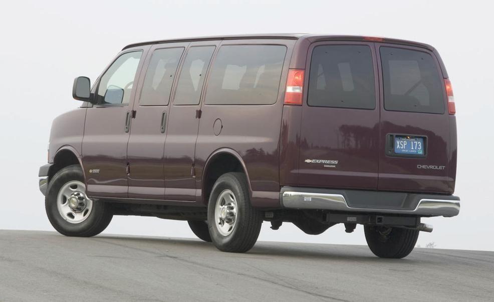 1997 chevy 3500 cargo van