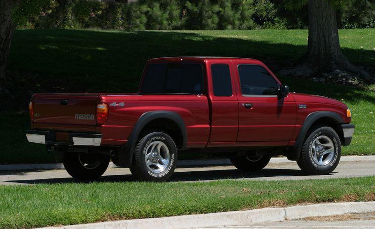 2008 Ford Ranger and Mazda B-series