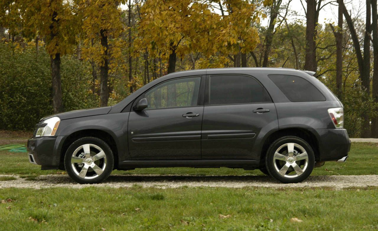 2008 chevrolet equinox rh caranddriver com 2018 Chevy Equinox 2008 chevy equinox owners manual