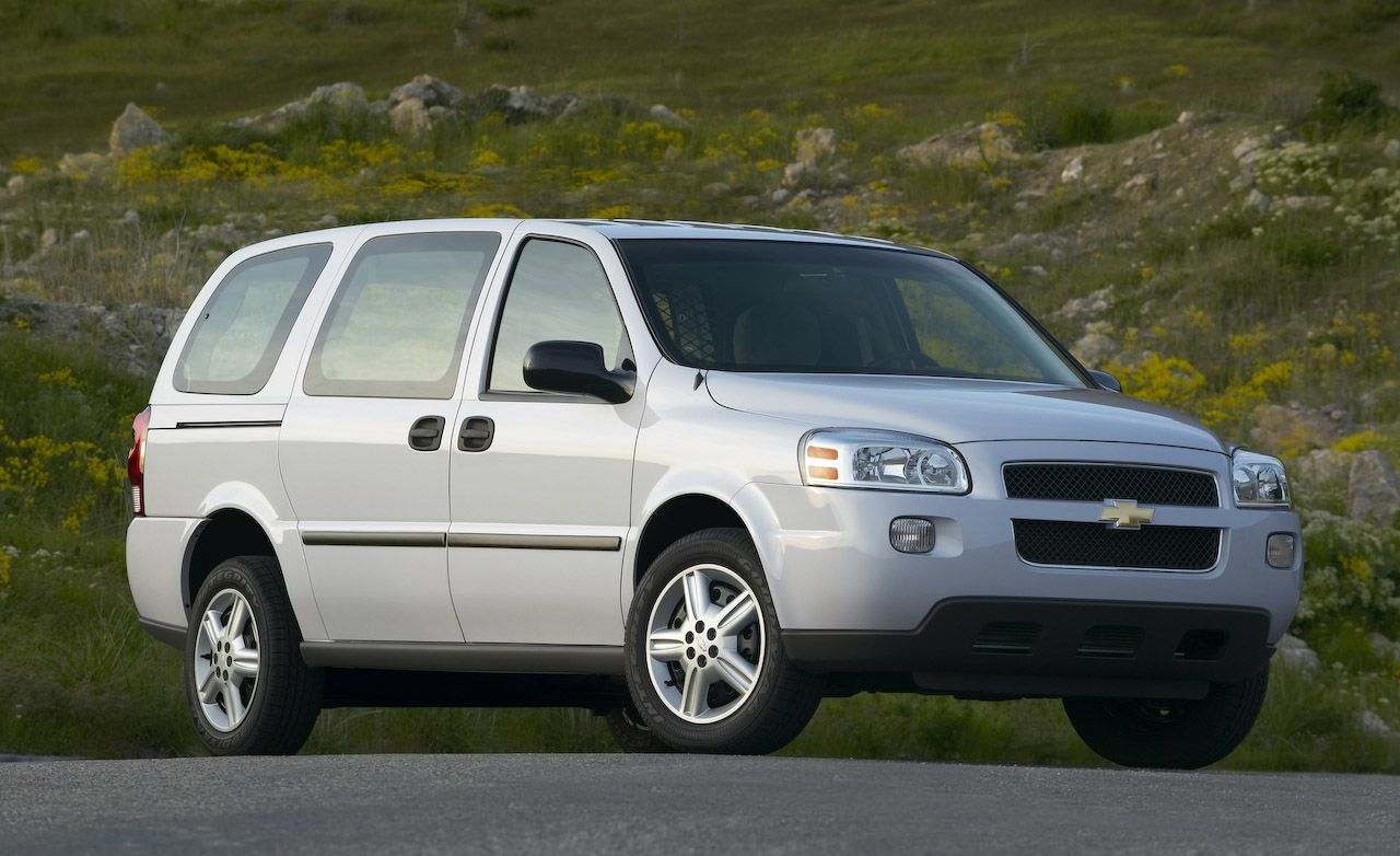 All Chevy 2008 chevy venture van : 2008 Chevrolet Uplander | Review | Reviews | Car and Driver