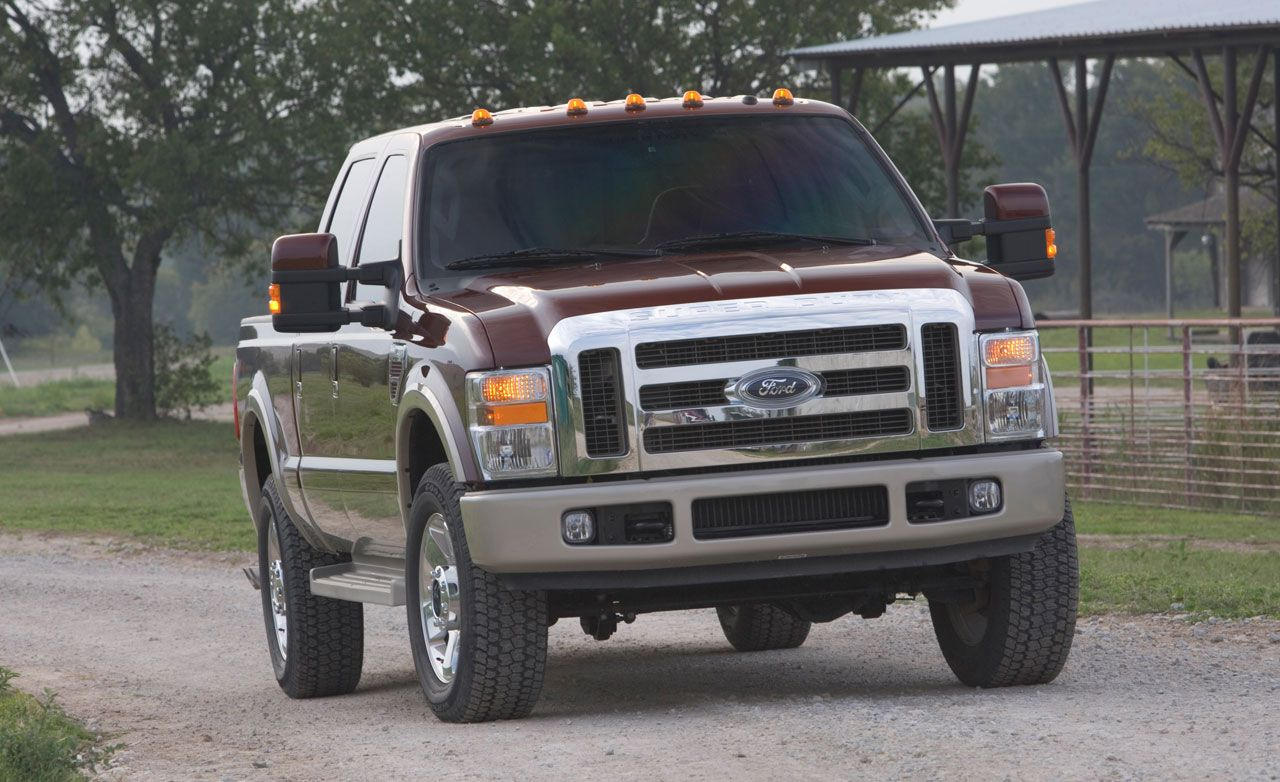 2008 ford f series super duty