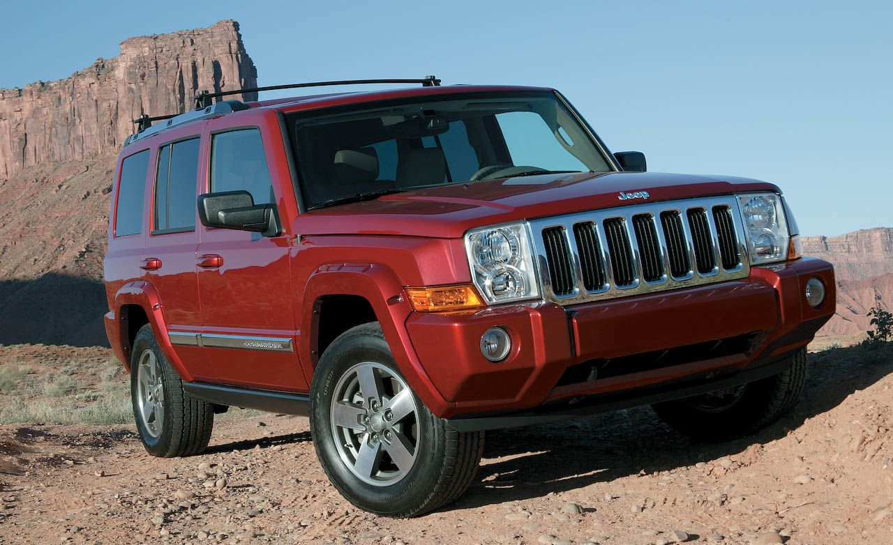 Types Of Jeeps >> 2008 Jeep Commander Review Reviews Car And Driver