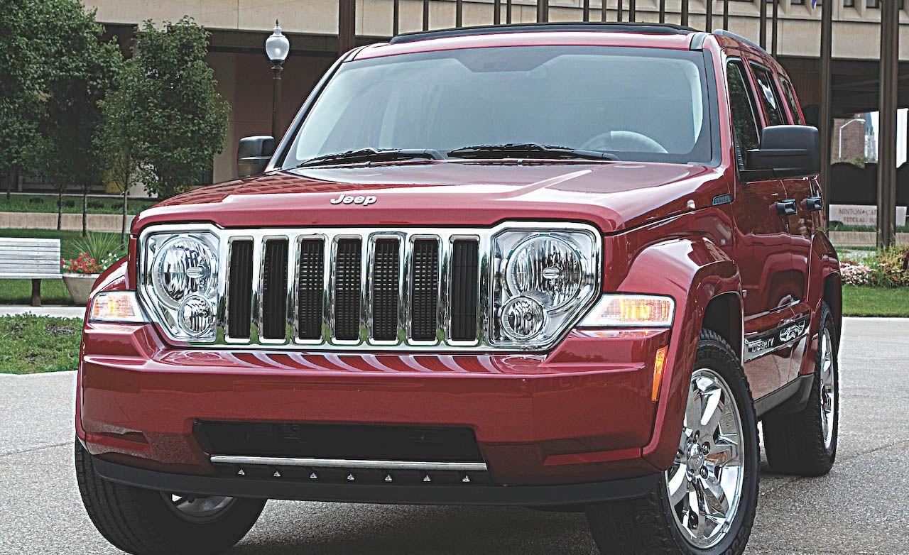 2008 jeep liberty sport specs