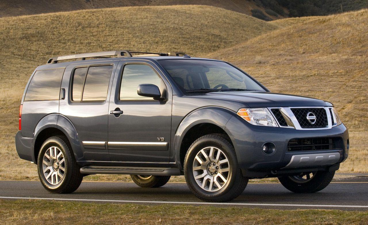 Nissan pathfinder reviews nissan pathfinder price photos and 2008 nissan pathfinder vanachro Choice Image