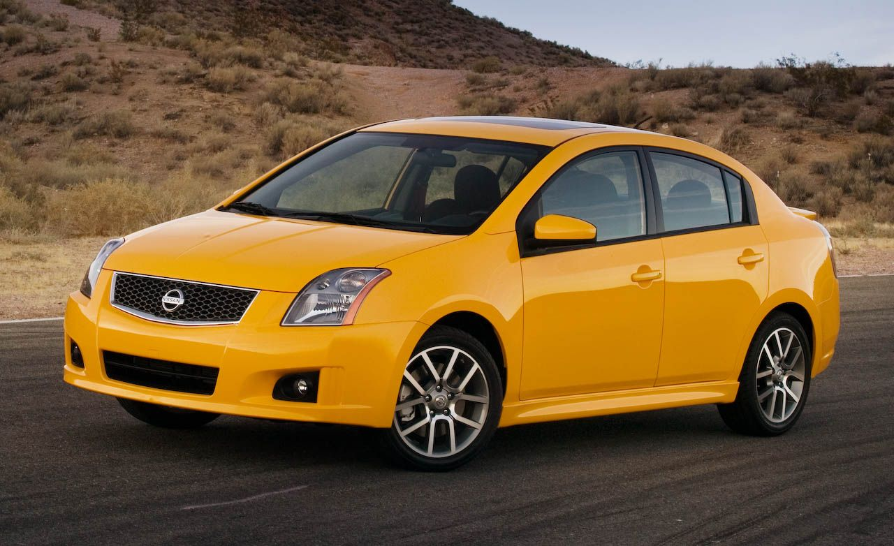 2008 nissan sentra and sentra se r spec v. Black Bedroom Furniture Sets. Home Design Ideas