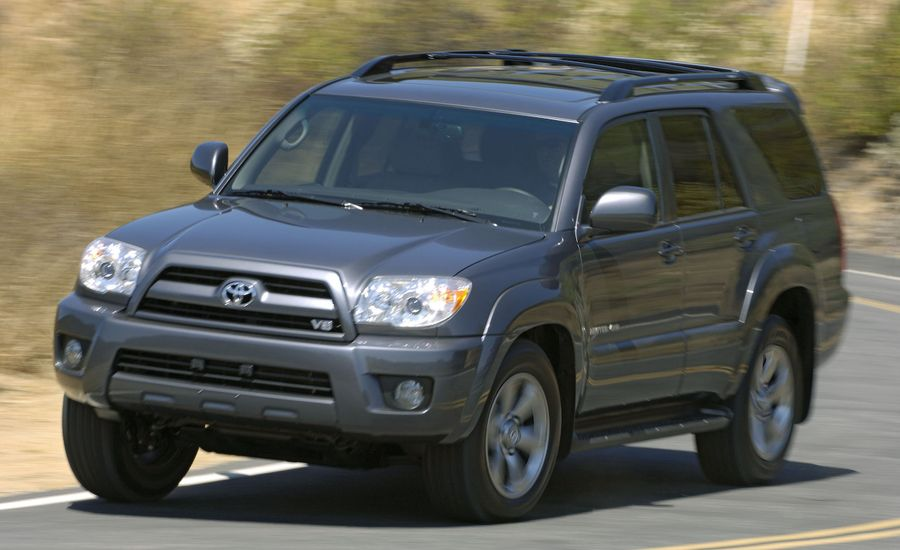 2008 toyota 4runner review reviews car and driver. Black Bedroom Furniture Sets. Home Design Ideas