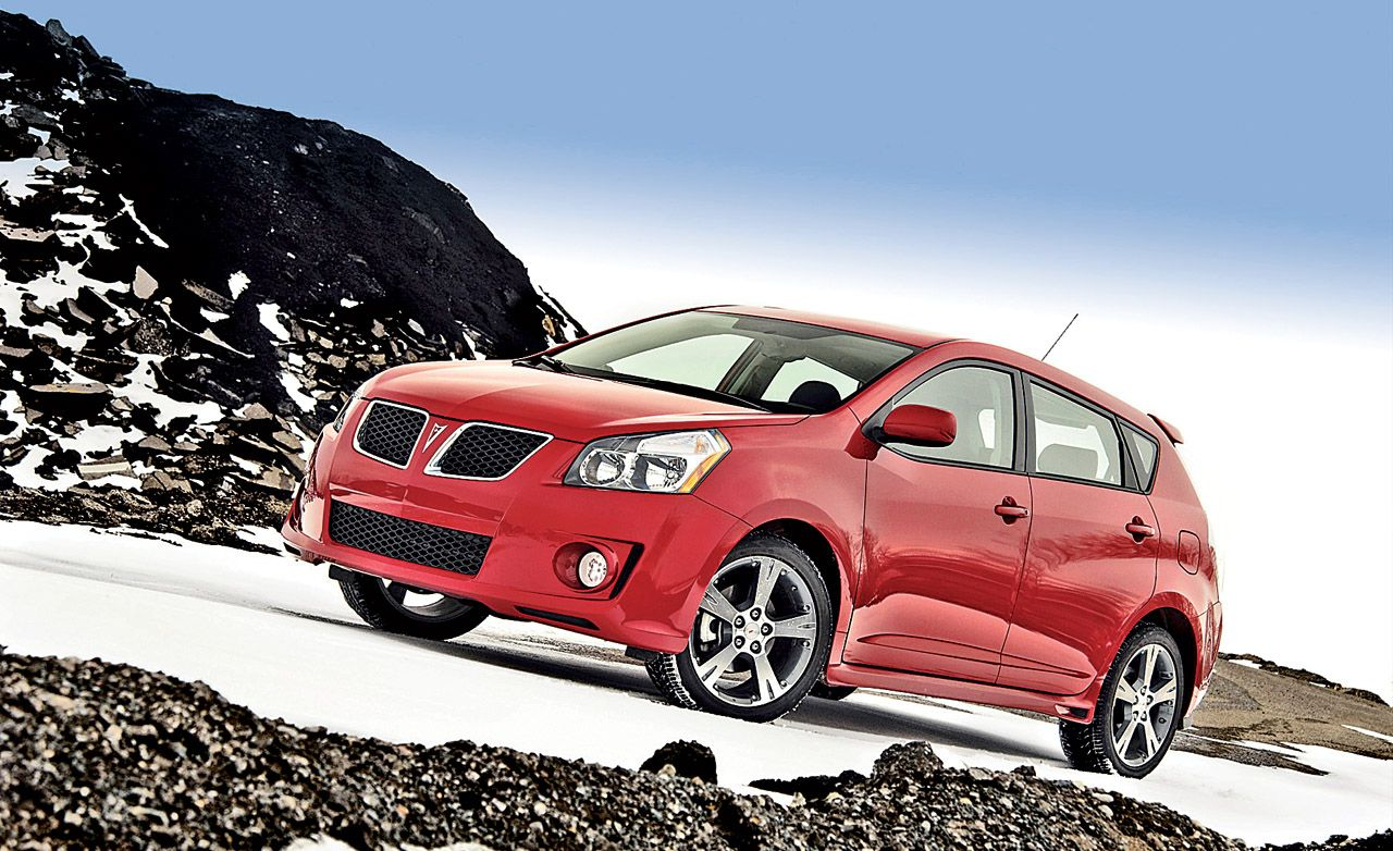 2009 Pontiac Vibe Gt Short Take Road Test Reviews