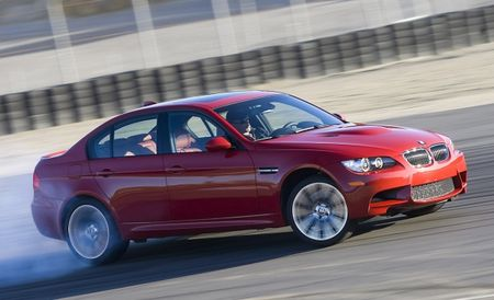 Drifting the BMW M3 and Lexus IS F