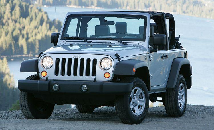 Jeep Wrangler on the Lyman Trail
