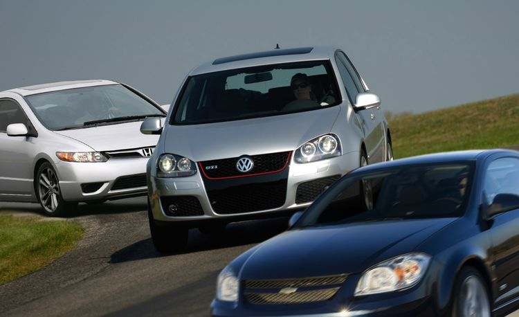2008 Chevrolet Cobalt SS Faces Four Forced-Induction Fours and a High-RPM Honda