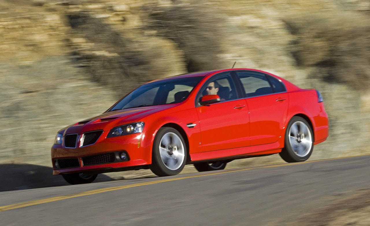 2008 Pontiac G8 GT Meets the Competition
