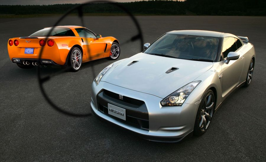 competitors in the crosshairs 2009 nissan gt r. Black Bedroom Furniture Sets. Home Design Ideas
