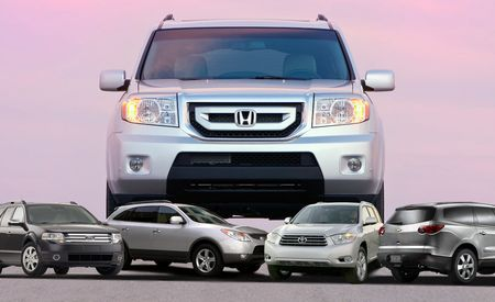 Family-Romper Roundup: 2009 Honda Pilot Meets Its Competition