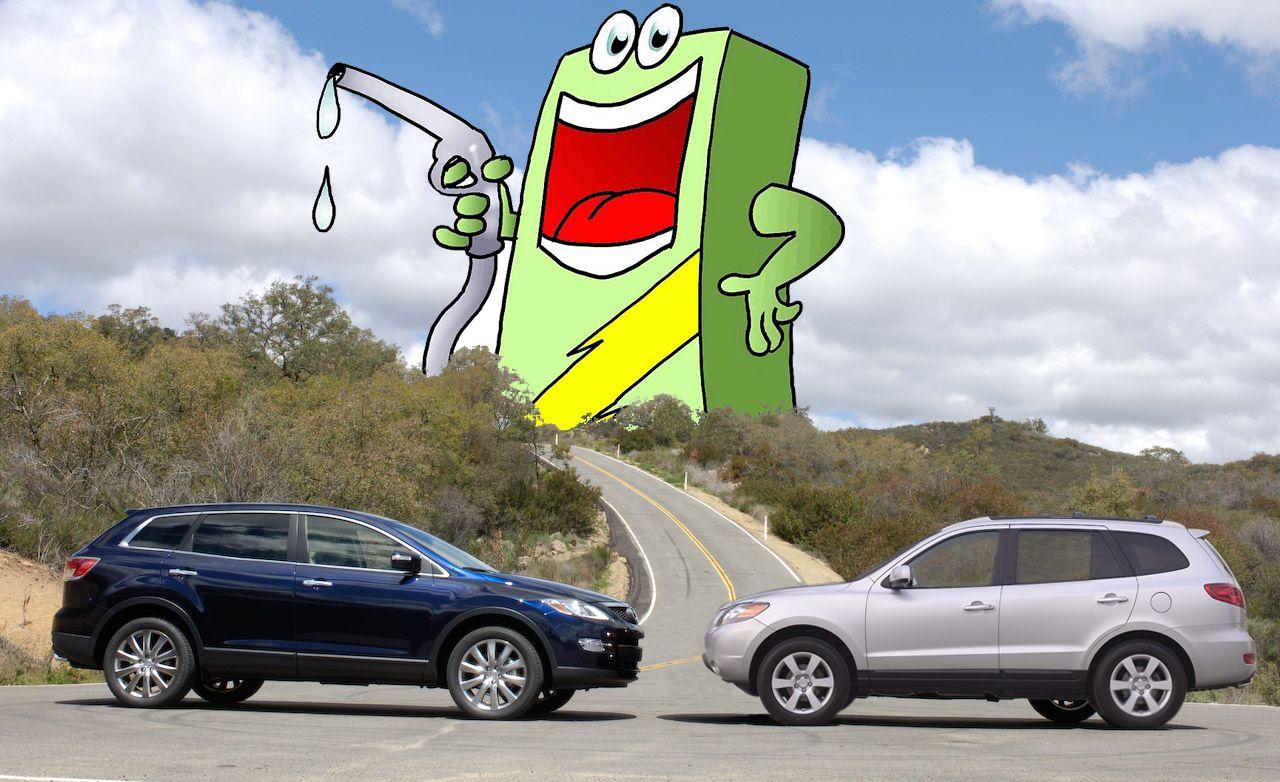 Fuel-Sipping Three-Row SUVs?