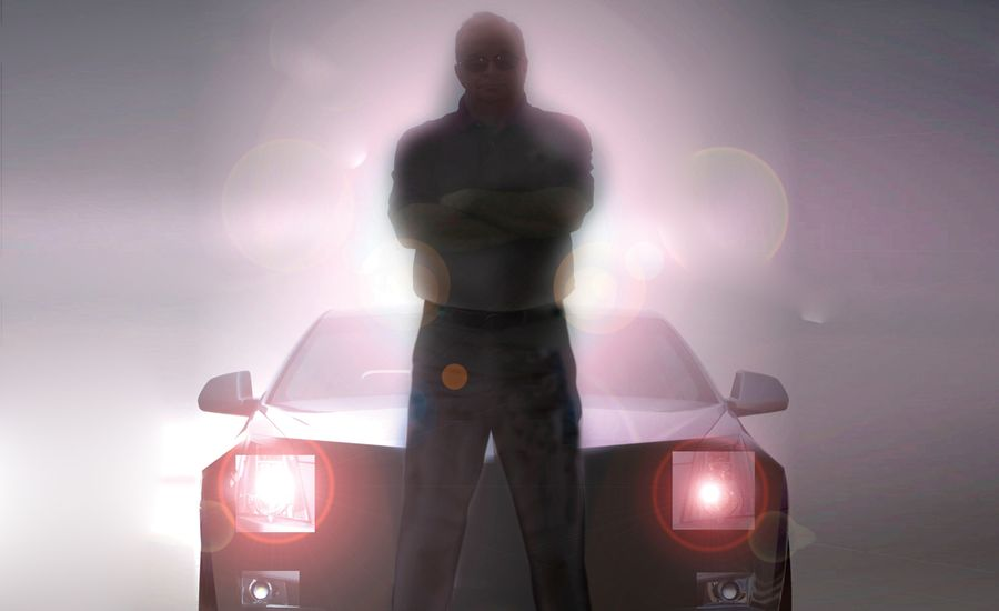 The Man Who Hides Cars