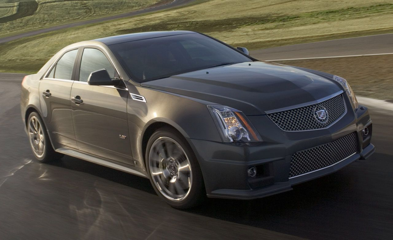 2009 cadillac cts v sneak peek