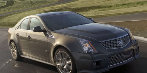2009 Cadillac Cts V Official Horsepower And Torque Numbers
