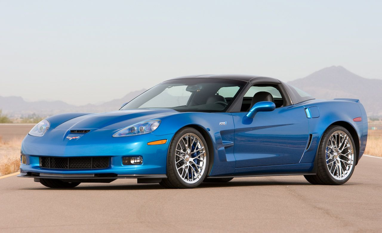 2009 Chevrolet Corvette ZR1 Certified for an Outrageous 638 hp, 604 lb-ft