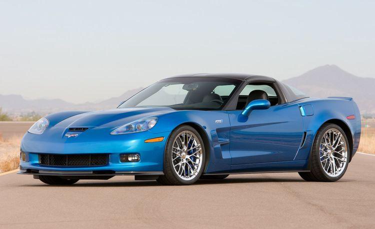 2009 Chevrolet Corvette ZR1 Certified for an Outrageous 638 hp, 604 lb-ft