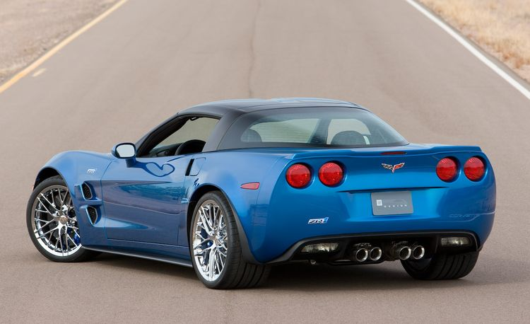 2009 Chevrolet Corvette ZR1: Priced at $105,000