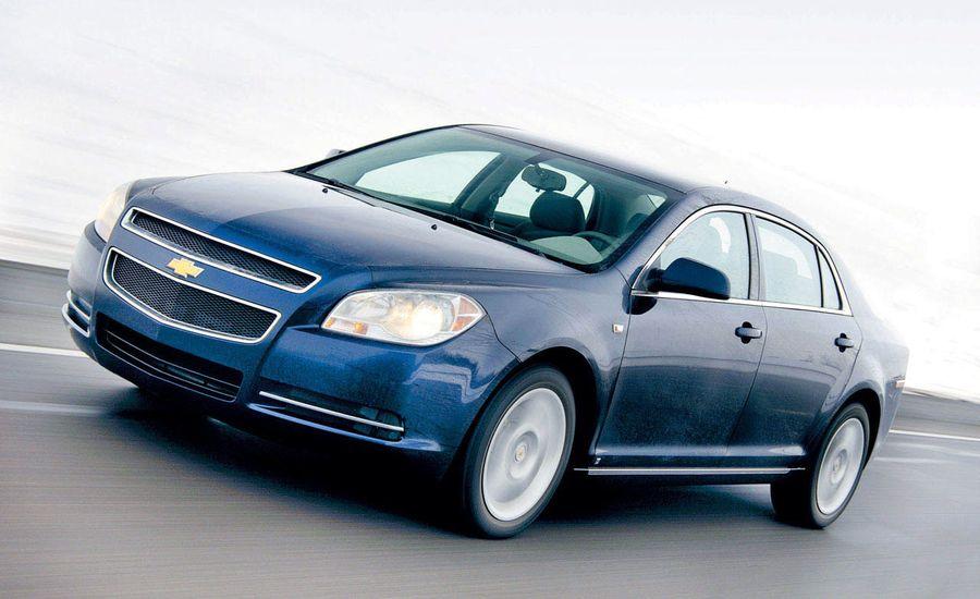2009 Hyundai Sonata and 2008 Chevrolet Malibu More Fuel-Efficient than Toyota Camry and Honda Accord
