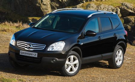 2009 Nissan Qashqai+2, Teana, EA2 Concept, and a Mystery Infiniti