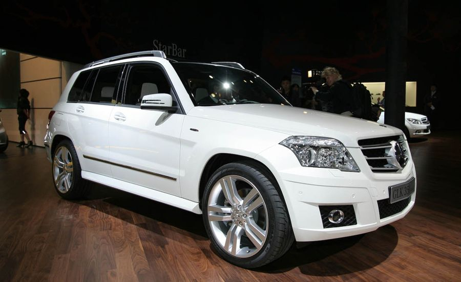 2010 mercedes benz glk class glk300 glk350 glk280 glk 220 cdi blue efficiency auto shows. Black Bedroom Furniture Sets. Home Design Ideas