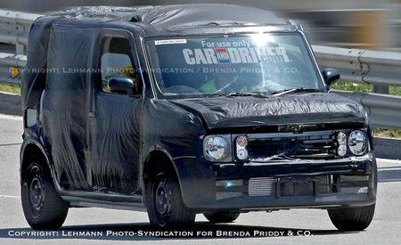 2010 Nissan Cube Caught Testing