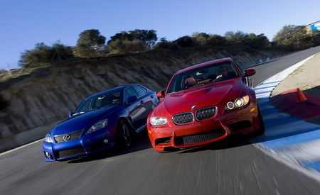 2008 BMW M3 vs. 2008 Lexus IS F