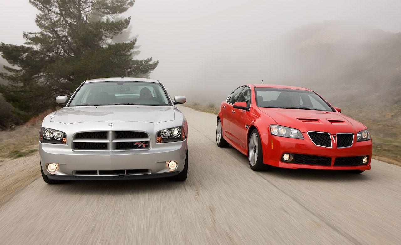 2008 pontiac g8 gt vs. 2008 dodge charger r/t | comparison tests