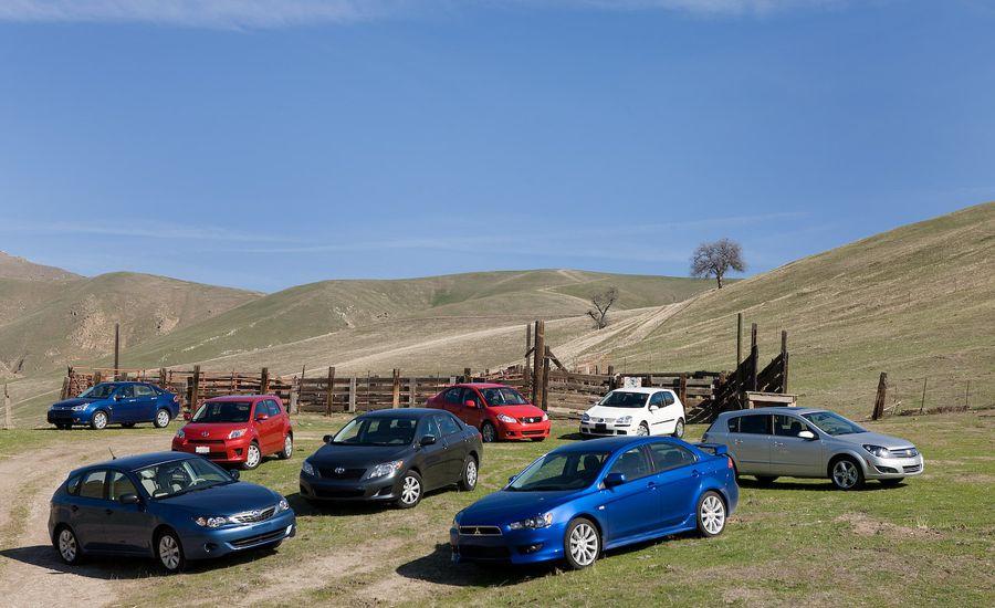 2009 Toyota Corolla vs. Ford Focus, VW Rabbit, Subaru Impreza, and Four More Economy Cars