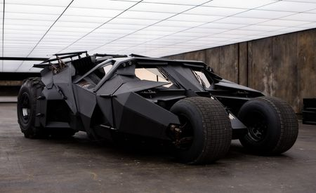 Bat-tastic! Batman's Rides from The Dark Knight, Up Close and Personal