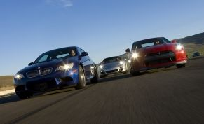 2008 BMW M3 vs. 2009 Nissan GT-R vs. 2008 Porsche 911 Turbo