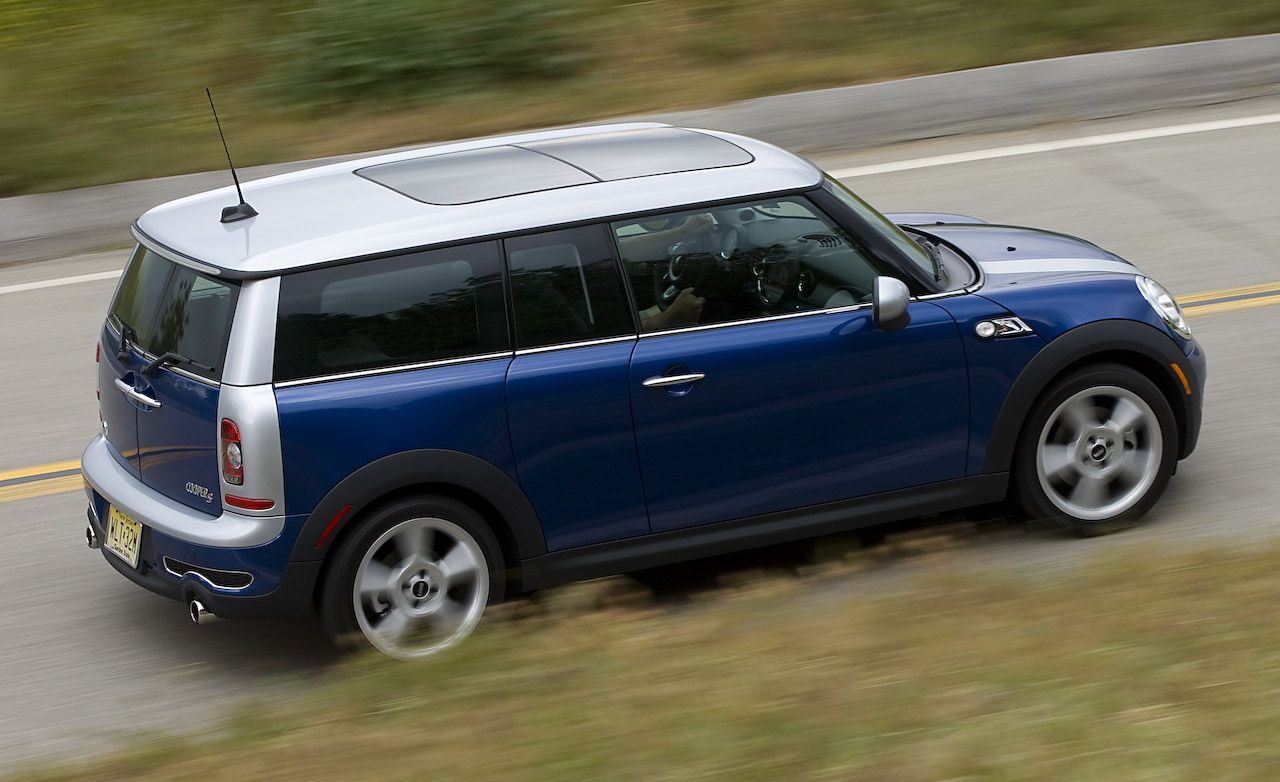 2008 Mini Cooper S Clubman Road Test