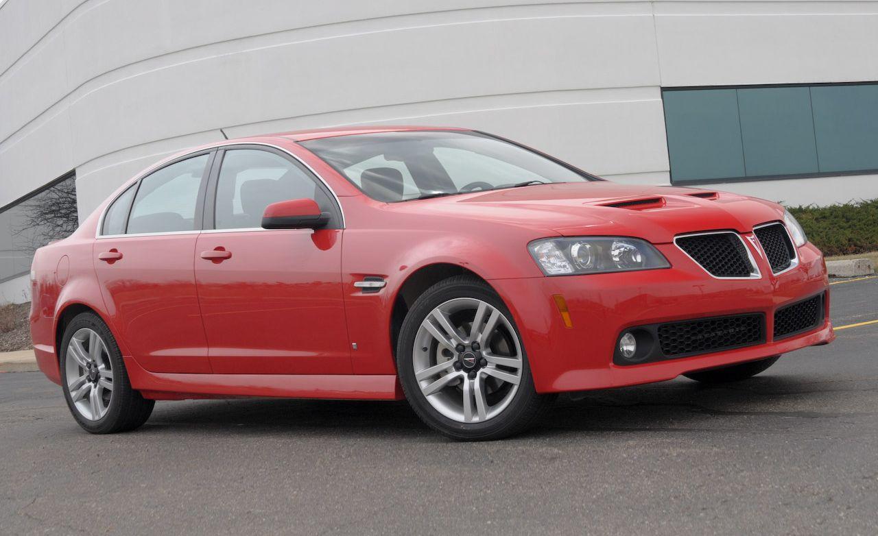 2008 pontiac g8 – instrumented test – car and driver