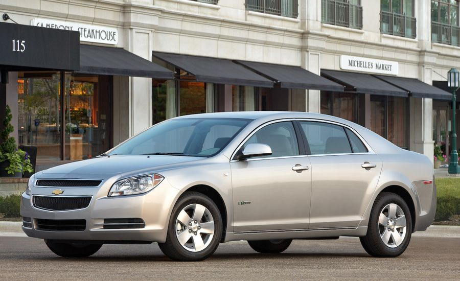 2009 chevrolet malibu hybrid review car and driver. Black Bedroom Furniture Sets. Home Design Ideas