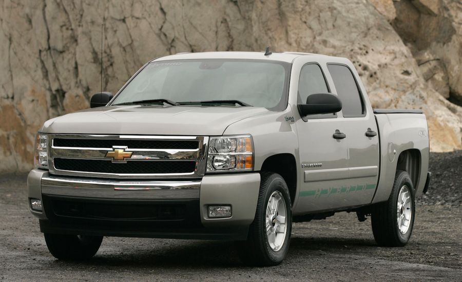 2009 chevrolet silverado and gmc sierra hybrid. Black Bedroom Furniture Sets. Home Design Ideas
