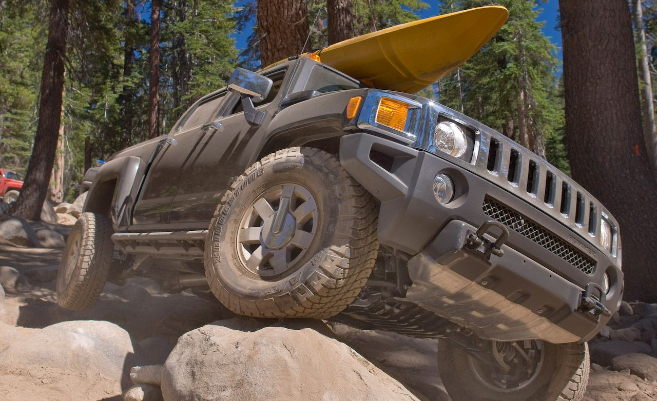 Hummer h3 reviews hummer h3 price photos and specs car and 2009 hummer h3t vanachro Gallery