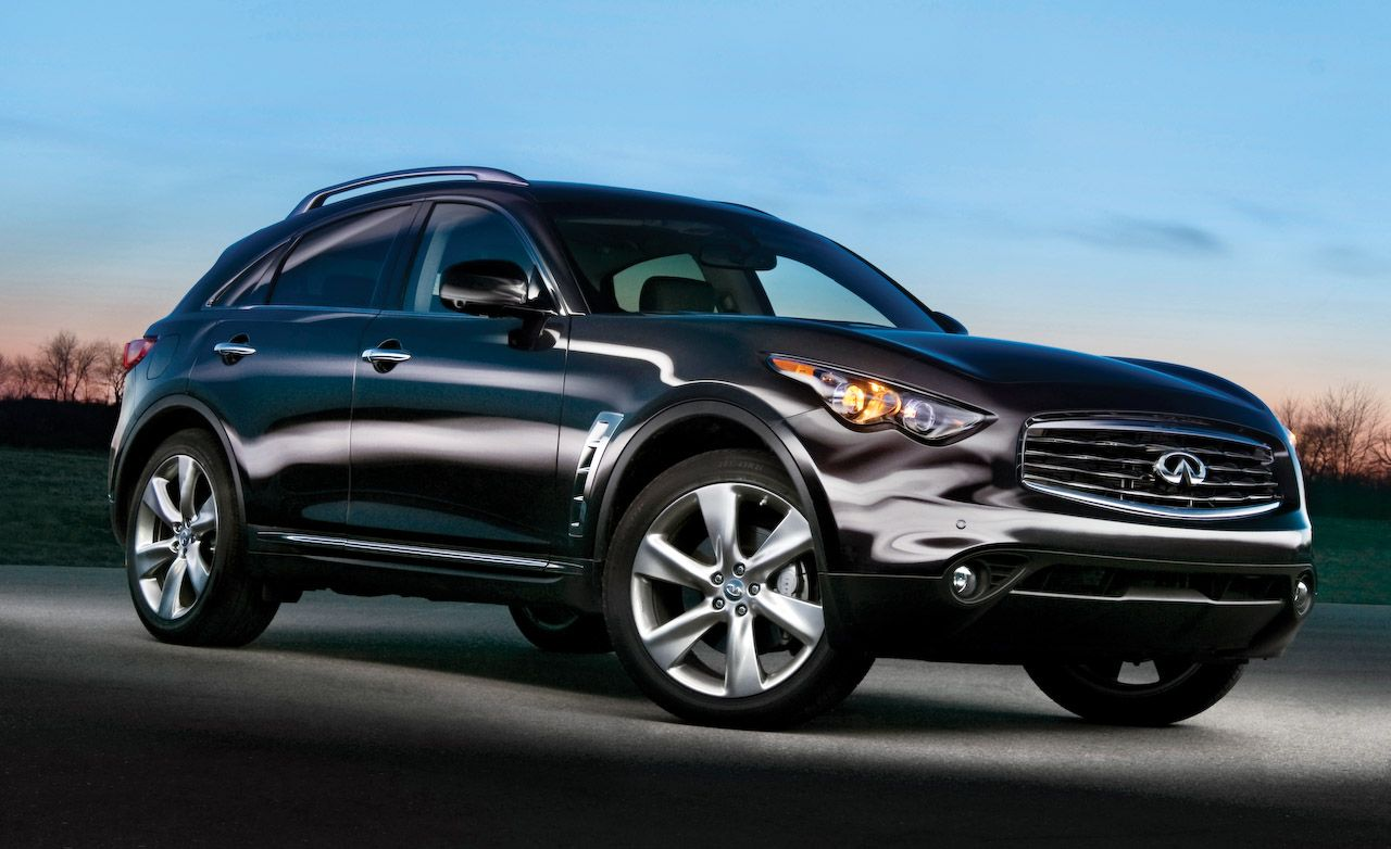 Infiniti fx reviews infiniti fx price photos and specs car 2009 infiniti fx50s vanachro Choice Image