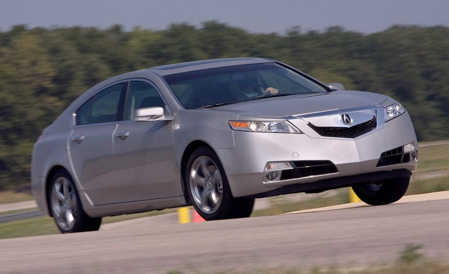 2010 Acura TL SH-AWD Manual