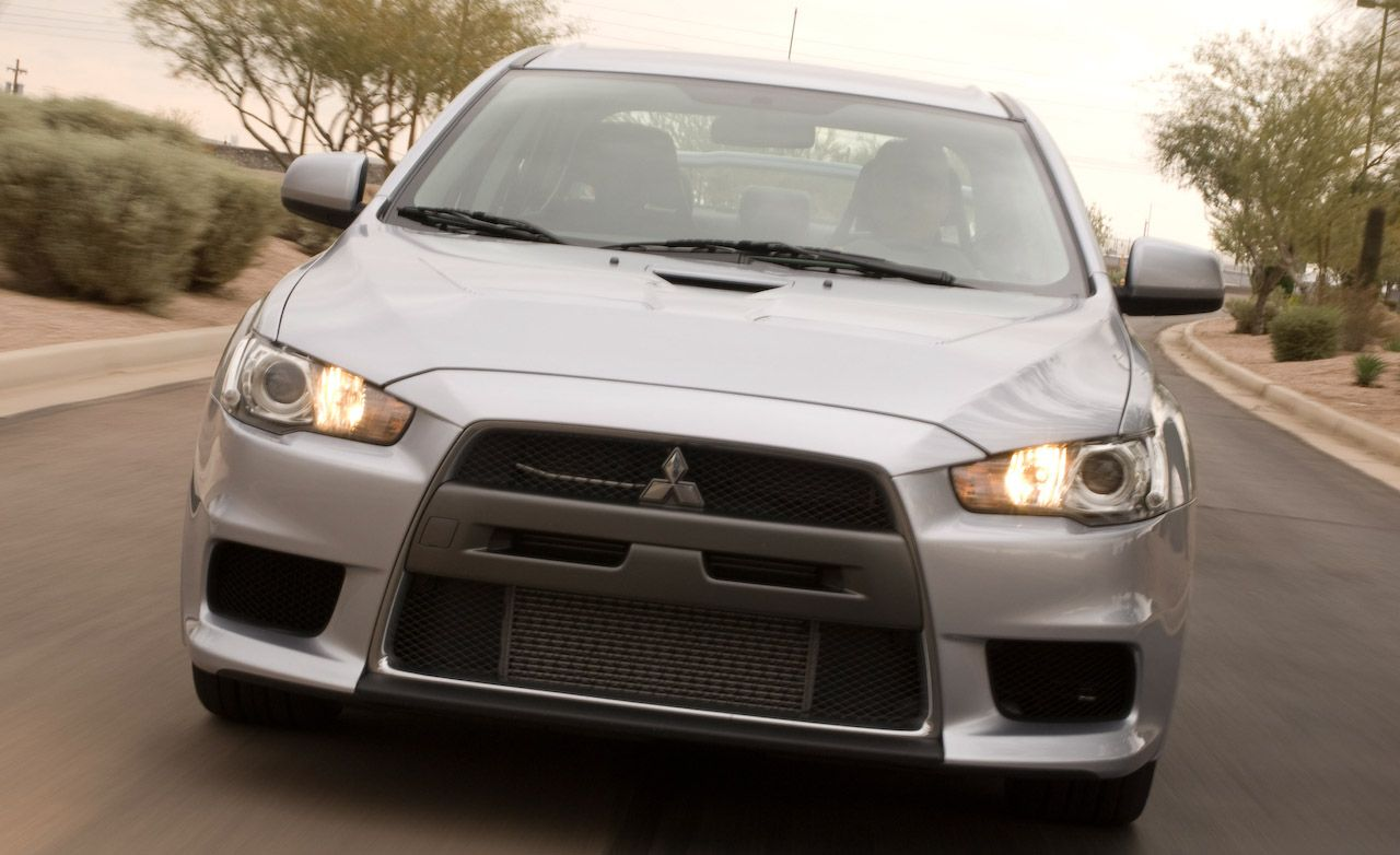 Mitsubishi Evo MR Launch Control